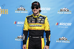 June 1, 2018 - Long Pond, Pennsylvania, United States of America - Paul Menard (21) wins the pole for the Pocono 400 at Pocono Raceway in Long Pond, Pennsylvania. (Credit Image: © Chris Owens Asp Inc/ASP via ZUMA Wire)