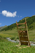 Alpine transhumance (Obere Seebachalm) in the Defereggen Valley. High Tauern National Park (Nationalpark Hohe Tauern), Central Eastern Alps, Austria | Obere Seebachalm am Ende des Osttiroler Defereggentals. Nationalpark Hohe Tauern, Osttirol in Österreich