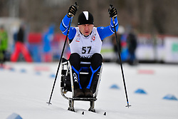 VADUTOV Valeriy, KAZ at the 2014 IPC Nordic Skiing World Cup Finals - Sprint