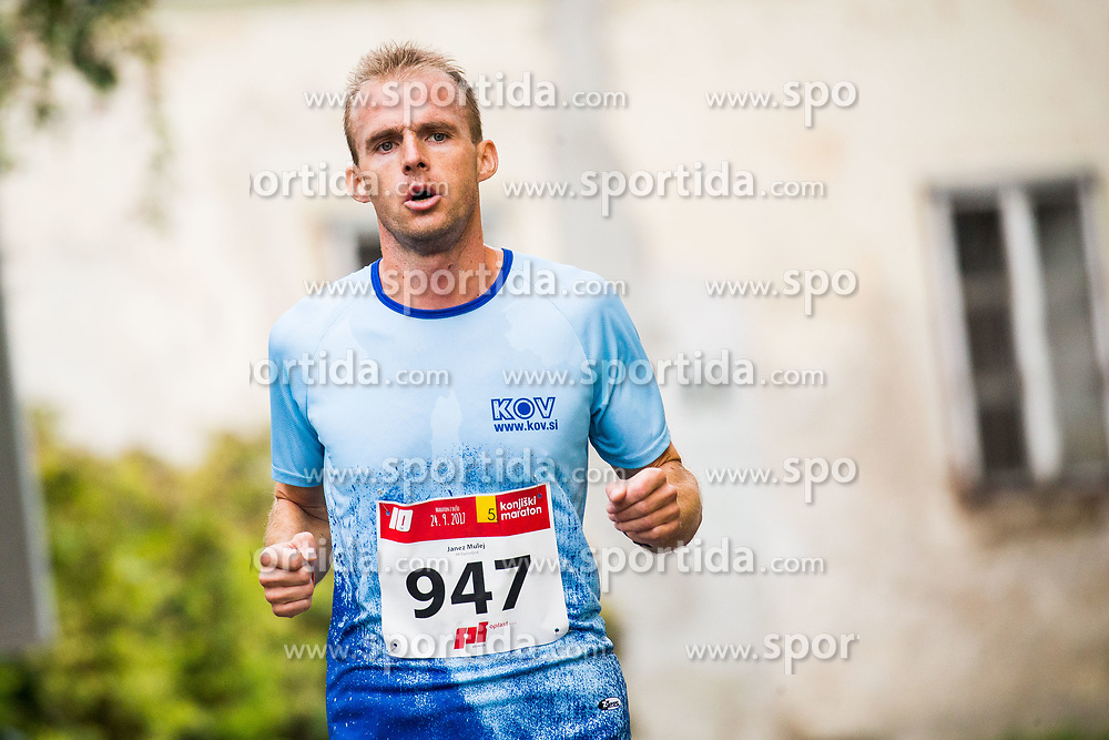 Janez Mulej at 5. Konjiski maraton / 5th Konjice marathon 2017, on September 24, 2017 in Slovenske Konjice, Slovenia. Photo by Vid Ponikvar / Sportida