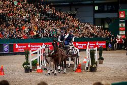Geerts Glenn, BEL, Maestoso Li-10, Maestoso Xiv, Silver, Szellem<br /> FEI World Cup Driving - First Round<br /> Leipzig - Partner Pferd 2018<br /> © Hippo Foto - Stefan Lafrentz