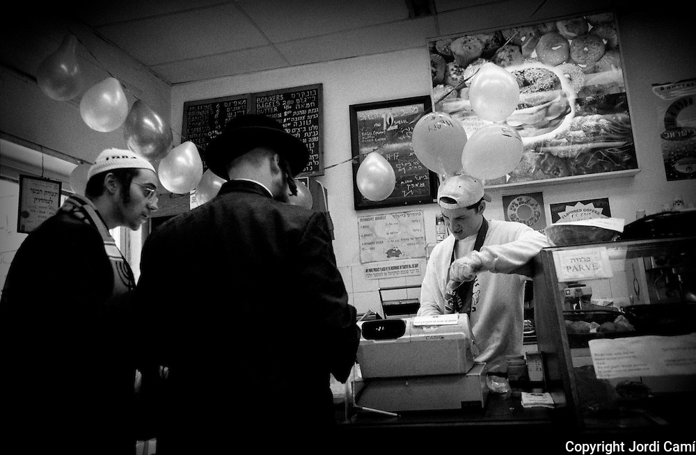 Kosher fast food restaurant. Mea Sherim neighborhood. Jerusalem.