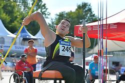06/08/2017; de La Calleja Gallardo, Fernando, F54, MEX at 2017 World Para Athletics Junior Championships, Nottwil, Switzerland