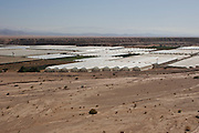 Desert Farming - greenhouses in the desert, Arava, Israel
