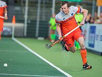 AMSTELVEEN - Seve van Ass (Ned)    tijdens  de tweede  Olympische kwalificatiewedstrijd hockey mannen ,  Nederland-Pakistan (6-1). Oranje plaatst zich voor de Olympische Spelen 2020.   COPYRIGHT KOEN SUYK