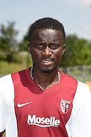 Mayoro NDOYE - 01.08.2014 - Photo Officielle de Metz -<br /> Photo : Fred Marvaux / Icon Sport