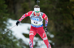 SVENDSEN Emil Hegle (NOR) competes during Men 10 km Sprint at day 2 of IBU Biathlon World Cup 2014/2015 Pokljuka, on December 19, 2014 in Rudno polje, Pokljuka, Slovenia. Photo by Vid Ponikvar / Sportida