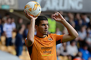 Wolverhampton Wanderers midfielder Conor Coady (16) during the EFL Sky Bet Championship match between Wolverhampton Wanderers and Reading at Molineux, Wolverhampton, England on 13 August 2016. Photo by Alan Franklin.