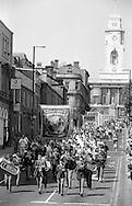 Kellingley Colliery Branch banner. 1992 Yorkshire Miners Gala, Barnsley.
