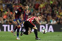 Barcelona´s Neymar Jr during 2014-15 Copa del Rey final match between Barcelona and Athletic de Bilbao at Camp Nou stadium in Barcelona, Spain. May 30, 2015. (ALTERPHOTOS/Victor Blanco)