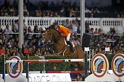 Dubbeldam Jeroen, (NED), SFN Zenith NOP<br /> Final<br /> Furusiyya FEI Nations Cup Jumping Final - Barcelona 2015<br /> © Dirk Caremans<br /> 26/09/15