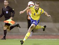 Fotball<br /> VM-kvalifisering<br /> Croatia / Kroatia v Sverige <br /> 08.10.2005<br /> Foto: Dppi/Digitalsport<br /> NORWAY ONLY<br /> <br /> OLOF MELLBERG (SWE)