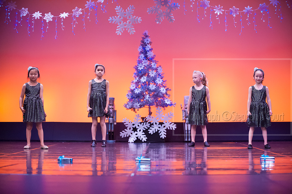Wellington, NZ. 5.12.2015. Singing Curtain Warmer I See Fire, from the Wellington Dance & Performing Arts Academy end of year stage-show 2015. Little Show, Saturday 10.15am. Photo credit: Stephen A'Court.  COPYRIGHT ©Stephen A'Court