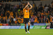 Conor Coady of Wolverhampton Wanderers during the Europa League play off leg 2 of 2 match between Wolverhampton Wanderers and Torino at Molineux, Wolverhampton, England on 29 August 2019.