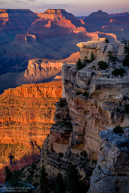 View of the Grand Canyon from Mather Point
