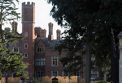 © Licensed to London News Pictures. 14/03/2013.Swaylands school building in Penshurst, Kent. This building  has been converted into flats..A 70-year-old man arrested over historic sex offences at a school for children with behavioural difficulties in Kent has been released on bail. The man was detained in Lancashire over assaults alleged to have taken place at Swaylands School, Penshurst,kent..He is the fourth person to be detained in the probe into the alleged offences, which took place between 1967 and 1993. Photo credit : Grant Falvey/LNP