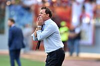Leonardo Semplici, Spal coach<br /> Roma 20-10-2018 Stadio Olimpico<br /> Football Calcio Campionato Serie A<br /> 2018/2019 <br /> Roma - Spal<br /> Foto Antonietta Baldassarre / Insidefoto