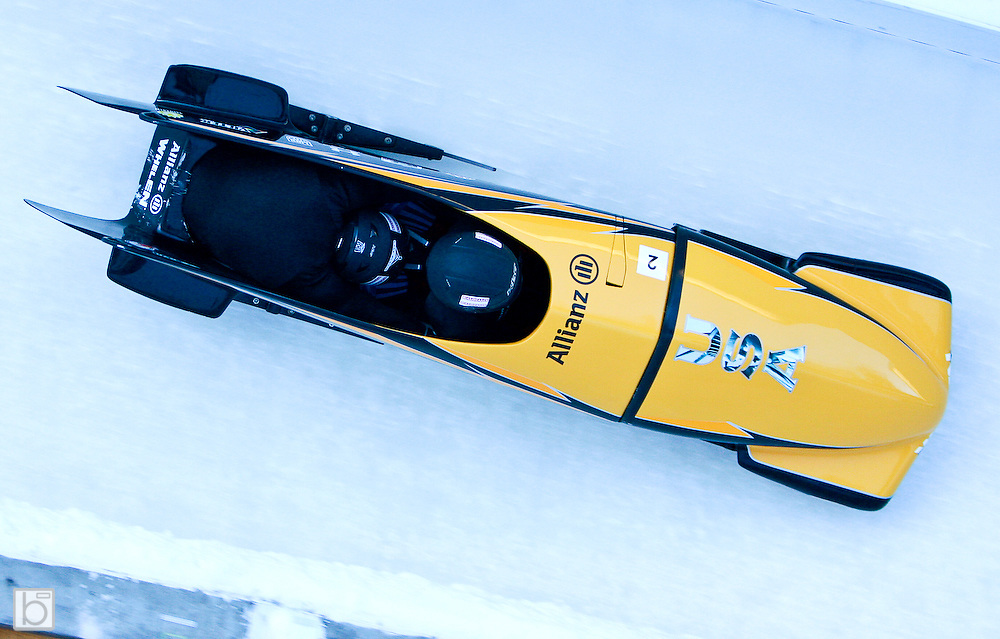 at U.S. National Bobsled Championships in Lake Placid, N.Y. Saturday, Jan 3, 2009.  (Photo/Todd Bissonette - www.rtbphoto.com)