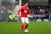 Nottingham Forest forward, on loan from Aston Villa, Ross McCormack (50) during the EFL Sky Bet Championship match between Burton Albion and Nottingham Forest at the Pirelli Stadium, Burton upon Trent, England on 11 March 2017. Photo by Jon Hobley.