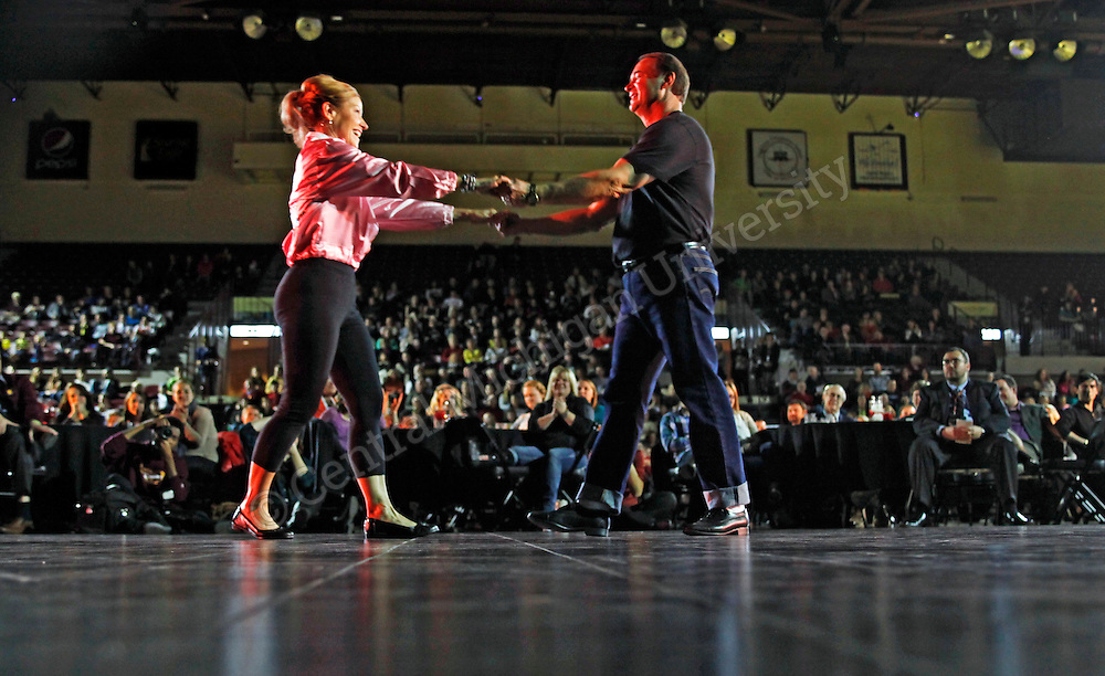 10 couples participated in the 2nd Annual Dance United, Thursday, Nov. 7, 2013 at McGurik Arena.