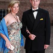 NLD/Apeldoorn/20070901 - Viering 40ste verjaardag Prins Willem Alexander, aankomst Prinses Sophie en partner Prins Edward van Engeland