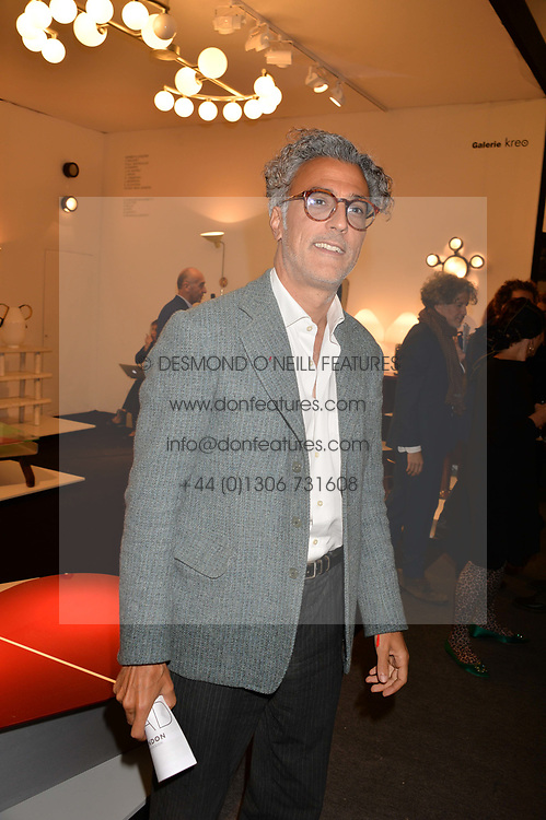 at the 2017 PAD Collector's Preview, Berkeley Square, London, England. 02 October 2017.