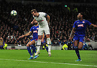 Football - 2019 / 2020 UEFA Champions League - Group B: Tottenham Hotspur vs. Olympiakos<br /> <br /> Harry Kane of Tottenham scores goal no 4, at The Tottenham Hotspur Stadium.<br /> <br /> COLORSPORT/ANDREW COWIE