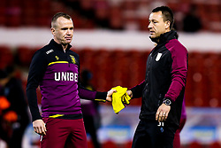 Aston Villa Assistant Manager John Terry and Glenn Whelan of Aston Villa - Mandatory by-line: Robbie Stephenson/JMP - 13/03/2019 - FOOTBALL - The City Ground - Nottingham, England - Nottingham Forest v Aston Villa - Sky Bet Championship