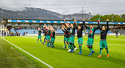 27.04.2019, Cashpoint Arena, Altach, AUT, 1. FBL, Cashpoint SCR Altach vs FC Wacker Innsbruck, Qualifikationsgruppe, 28. Spieltag, im Bild Jubel (FC Wacker Innsbruck) // during the tipico Bundesliga qualification group, 28th round match between Cashpoint SCR Altach and FC Wacker Innsbruck at the Cashpoint Arena in Altach, Austria on 2019/04/27. EXPA Pictures © 2019, PhotoCredit: EXPA/ Peter Rinderer