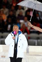 11.06.2011, Allianz Arena, Muenchen, GER, Stars die Winterspiele und Du , im Bild Johannes B Kerner muss nicht im Regen stehen  , EXPA Pictures © 2011, PhotoCredit: EXPA/ nph/  Straubmeier       ****** out of GER / SWE / CRO  / BEL ******