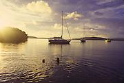 Lisa Beach, Vavau Island, Tonga<br />