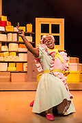 Christmas gold returns to Theatre Royal Stratford East this season, with a glittering, laugh-out-loud new production of Dick Whittington. Picture shows Delroy Atkinson (Shirley the Cook).