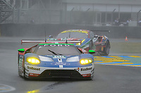 Olivier Pla (FRA) / Stefan Mucke (DUE) / Billy Johnson (USA) #66 Ford Chip Ganassi Racing Team UK Ford GT,  during Le Mans 24 Hr June 2016 at Circuit de la Sarthe, Le Mans, Pays de la Loire, France. June 18 2016. World Copyright Peter Taylor/PSP. Copy of publication required for printed pictures.  Every used picture is fee-liable. http://archive.petertaylor-photographic.co.uk