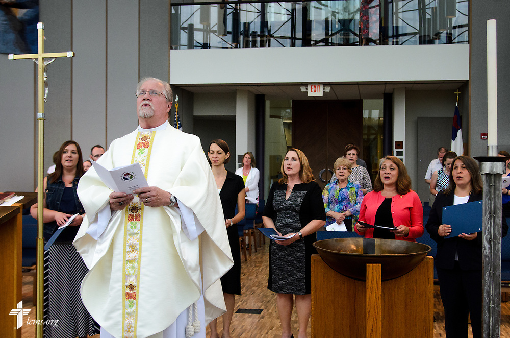 Photographs from the July 2017 Service of Sending for new missionaries in the International Center of The Lutheran Church–Missouri Synod on Friday, July 14, 2017, in St. Louis. LCMS Communications/Frank Kohn