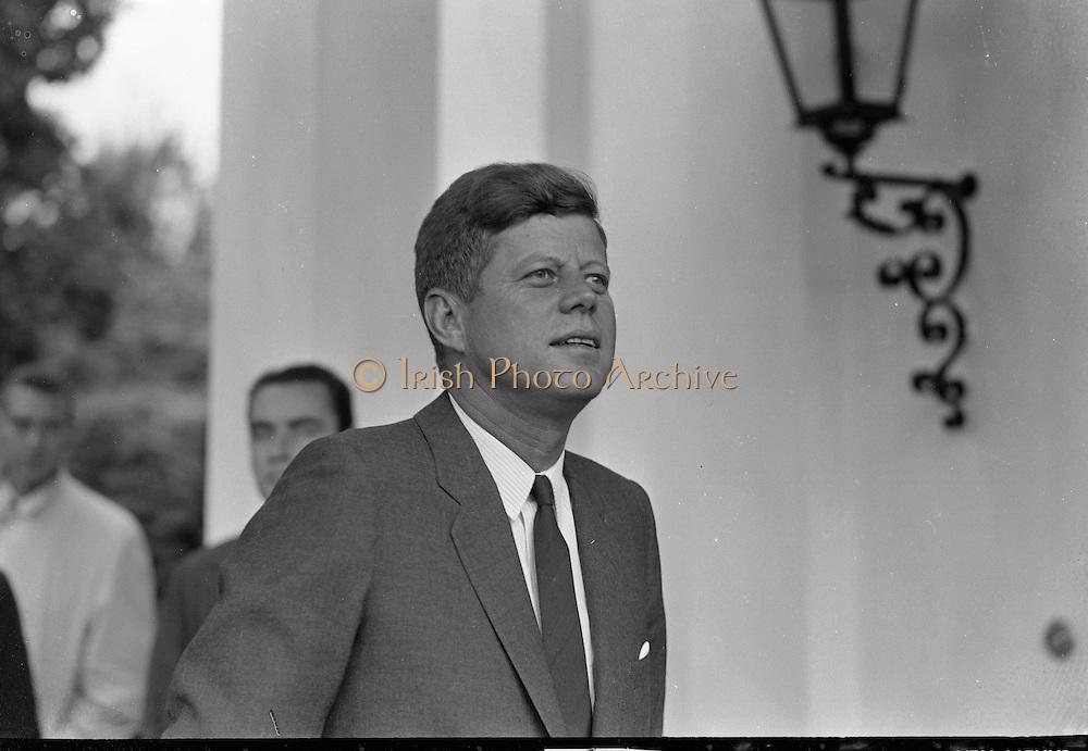President Kennedy meets Taoiseach.27.06.1963