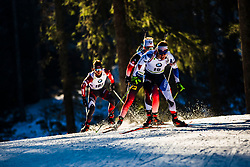 Michal Krcmar (CZE) during the Men 20 km Individual Competition at day 1 of IBU Biathlon World Cup 2019/20 Pokljuka, on January 23, 2020 in Rudno polje, Pokljuka, Pokljuka, Slovenia. Photo by Peter Podobnik / Sportida