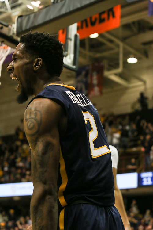 March 5, 2018 - Asheville, North Carolina - U.S. Cellular Center: ETSU forward David Burrell (2)<br /> <br /> Image Credit: Dakota Hamilton/ETSU