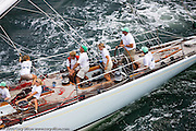Columbia racing at the New York Yacht Club Race Week.