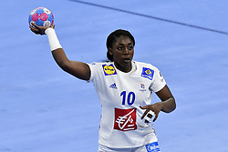 France player Grace Zaadi during the Women's european handball chanmpionship preliminary round, Slovenia vs France. Nancy, Fance -02/12/2018//POLEMILE_01POL20181202NAN029/Credit:POL EMILE / SIPA/SIPA/1812021731