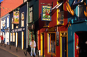 Colourful buildings and pubs, Dingle, County Kerry, Ireland