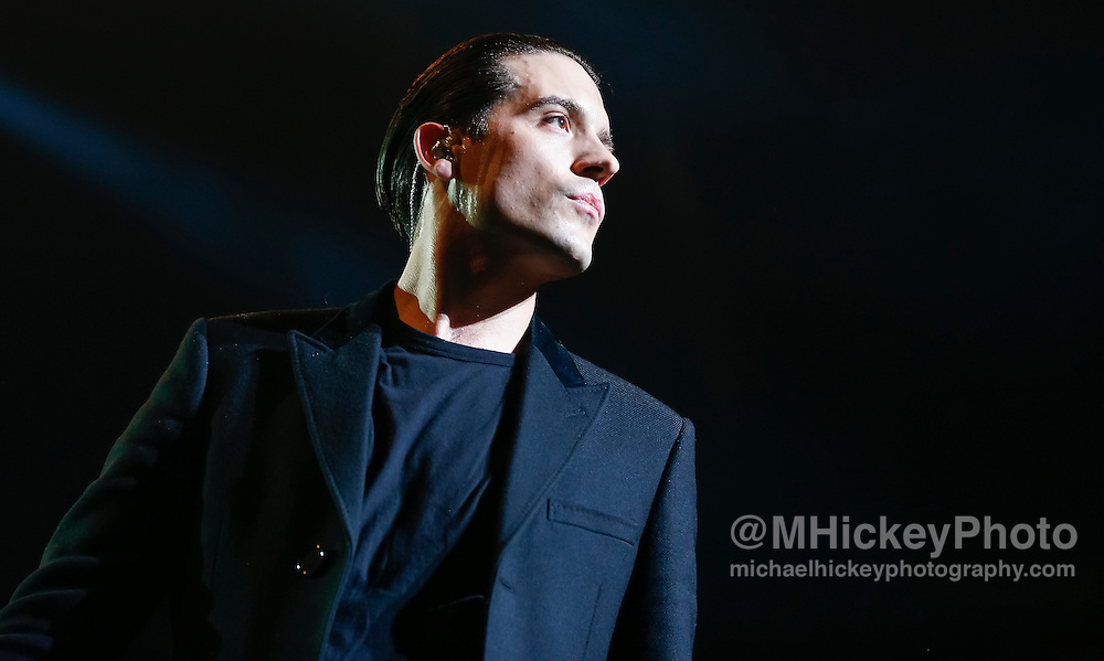 INDIANAPOLIS, IN - DECEMBER 04: G-EAZY performs during 2016 Santa Slam Concert at Indiana Farmers Coliseum on December 4, 2016 in Indianapolis, Indiana. (Photo by Michael Hickey/Getty Images) *** Local Caption *** G-EAZY