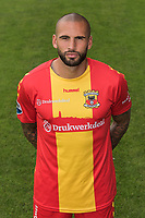 Joey Suk during the team presentation of Go Ahead Eagles on July 15, 2016 at the Adelaarshorst Stadium in Deventer, The Netherlands.