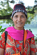 India, the Andaman and Nicobar Islands portrait of a woman