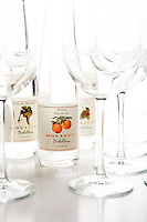 "Peach ""Eau de Vie"" from the Montelle Distillery."