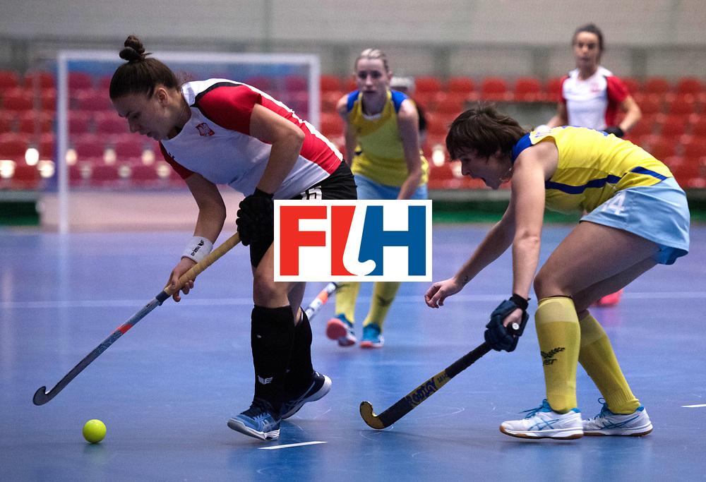 BERLIN - Indoor Hockey World Cup<br /> Poland - Kazachstan<br /> foto: SLAWINSKA Paula<br /> WORLDSPORTPICS COPYRIGHT FRANK UIJLENBROEK