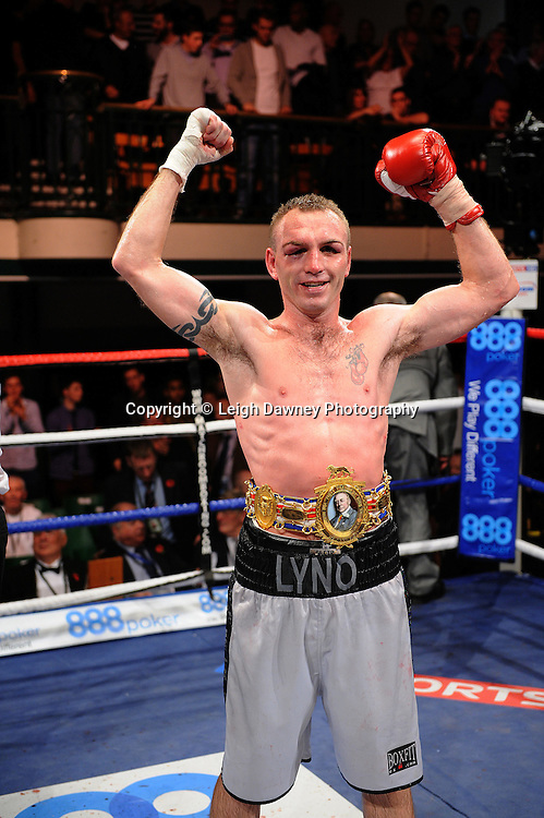 Colin Lynes defeats Lee Purdy for the British Welterweight Title at York Hall 09.11.11. Matchroom Sport. Photo credit: © Leigh Dawney 2011.