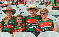 Mayo supporters Cait Bourke, Blathnaid Kelly, Tiernan Bourke, Tadhg Kelly.<br />