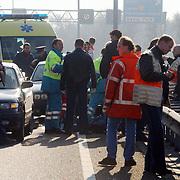 Dodelijk ongeval motorrijder A1 bij Laren