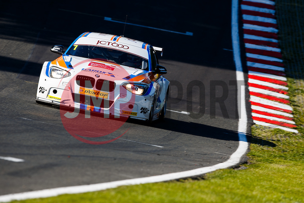 Eventual race winner Sam Tordoff | #7 JCT600 Racing BMW 125i M Sport | British Touring Car Championship Race 3 - Photo mandatory by-line: Rogan Thomson/JMP - 07966 386802 - 07/06/2015 - SPORT - MOTORSPORT - Little Budworth, England - Oulton Park Circuit.