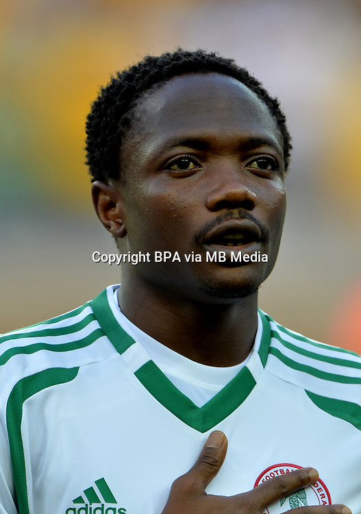 Fifa Brazil 2014 World Cup - <br /> Nigeria  Team - <br /> Ahmed MUSA